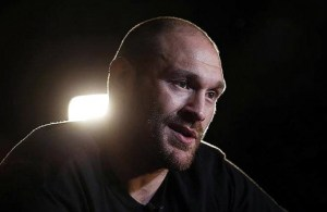 """When I said I was a fat man,"" said Fury, ""I was showing people I'm a normal person."" (Photo: Action Images)"