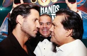 Manos de Piedra Durán, Edgar Ramírez y Gilberto Jesús Mendoza