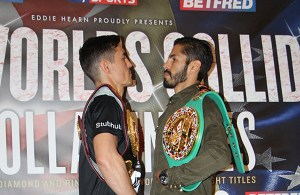Anthony Crolla vs Jorge Linares Press conference