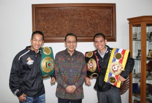 The Dragon, The Indonesian Thunder & The Vice President