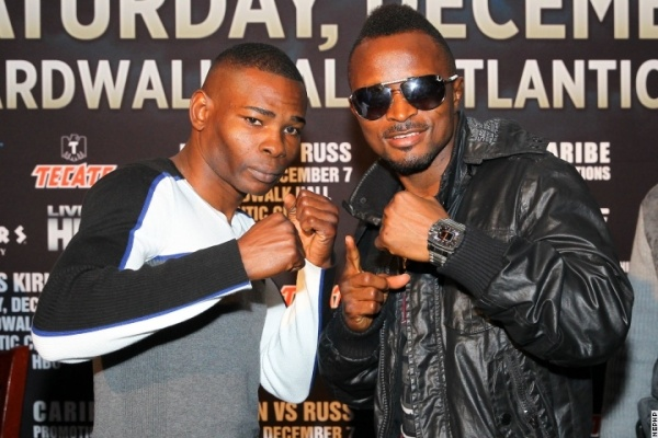 Photos: Rigondeaux, Agbeko Face To Face in NYC