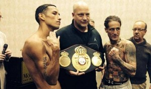 Johan Perez Paul Spadafora weigh-in
