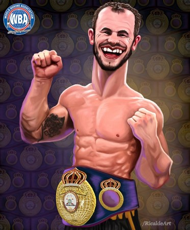Jarrod Fletcher WBA International Middleweight Champion