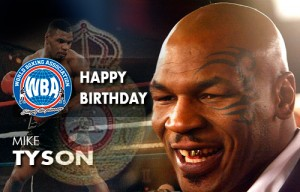 Happy birthday to Mike Tyson former WBA Heaiweight Champion