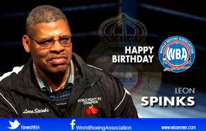Happy Birthday to former champion Leon Spinks