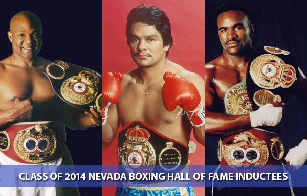 Durán, Foreman y Holyfield serán exaltados al Salón de la Fama de Nevada