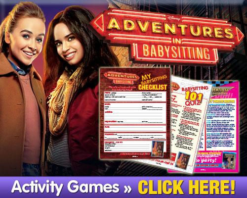 Download Adventures In Babysitting Activities
