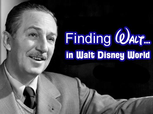 Walt Disney in Walt Disney World