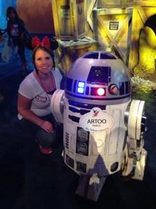 Me and Artoo