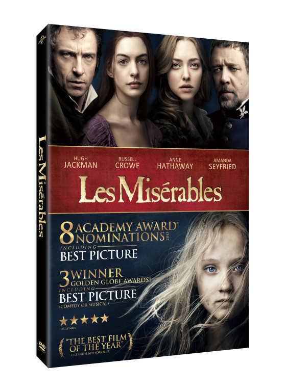 giveaway win a les mis201rables prizepack we are movie geeks