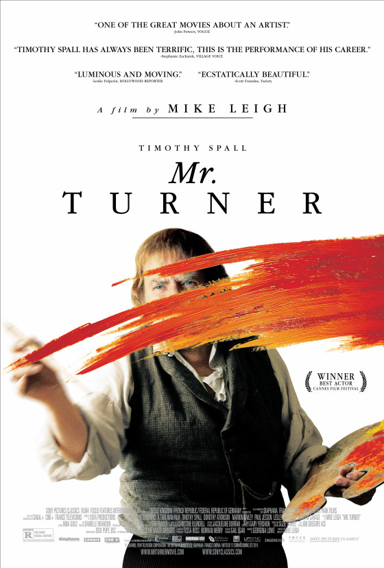 gorgeous us poster for mike leigh�s mr turner is here