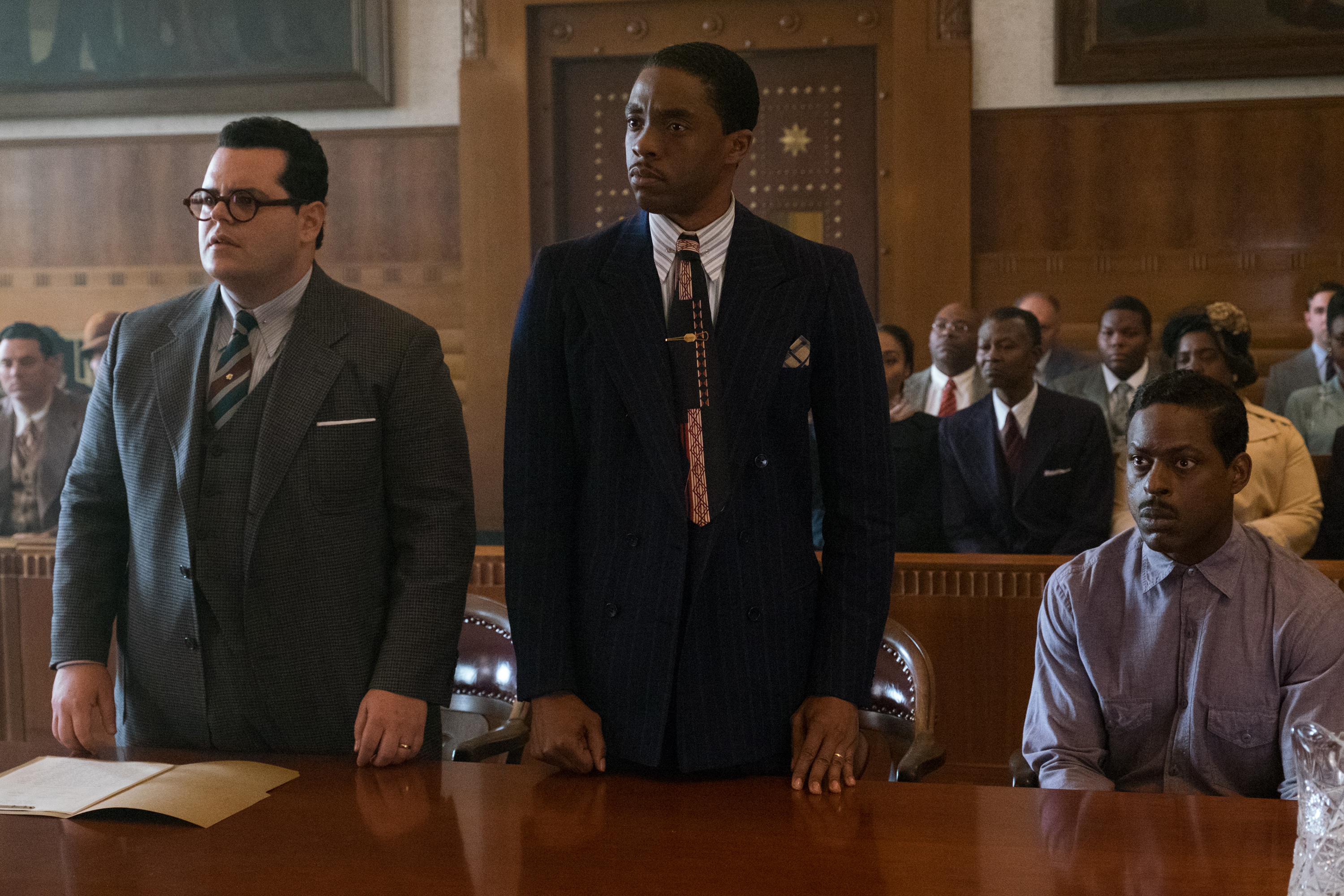 'Marshall' Movie Trailer: Chadwick Boseman Stars as Thurgood Marshall