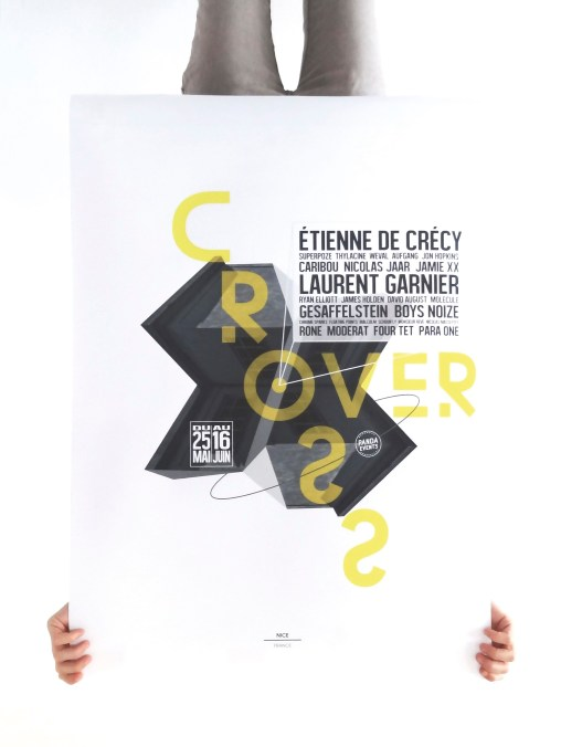 PANDA EVENTS CROSSOVER AFFICHE