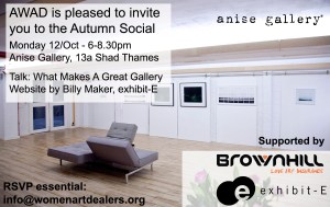 AWAD Social celebrating London Frieze Week @ Anise Gallery | London | United Kingdom