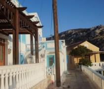 Architectuur huisjes karpathos grieks eiland