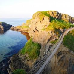 Carrick-a-rede touwbrug noord ierland