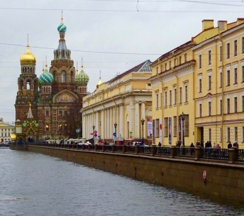 Church of our savior on spilled blood sint petersburg