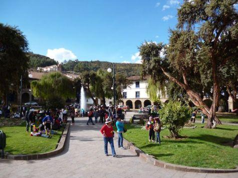 Cusco parken peru