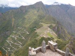 Huayna Picchu uitzicht machu picchu peru
