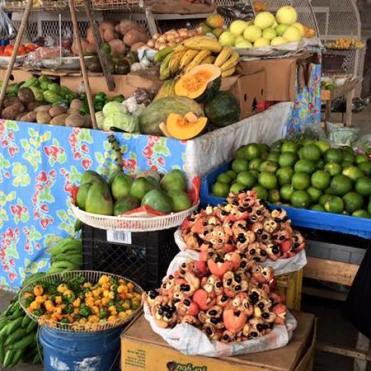 Jamaica fruitmarkt