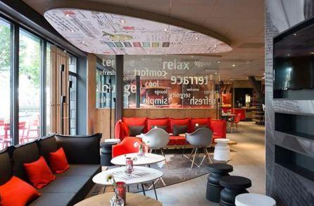 Lounge ibis hotel rotterdam