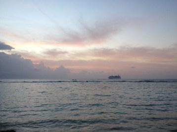 Mahahual sunrise