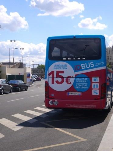 Met de bus naar Parijs IdBus