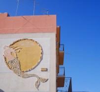 Mozaiek schilderingen sicilie brucoli