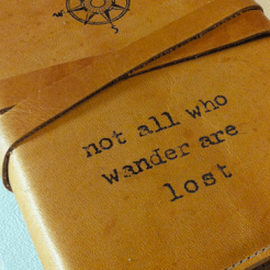 Not all who wander are lost reisdagboek