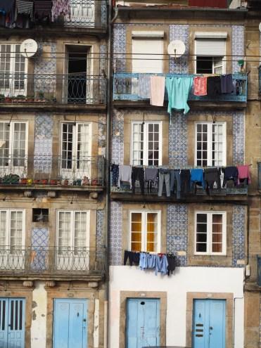 Porto Rebeira oude centrum