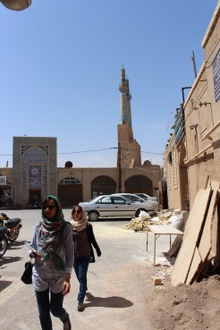 straten-yazd-in-iran