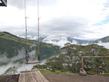 Swing of Death ecuador Banos