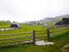 Velika Planina huisjes