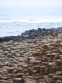 basalten bij giants causeway