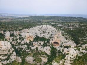 cavagrande uitzicht vanaf boven sicilie