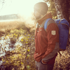 fjallraven outfit buiten