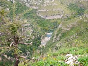 uitzicht cavagrande sicilie oostkust