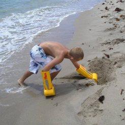 zandkastelen bouwen