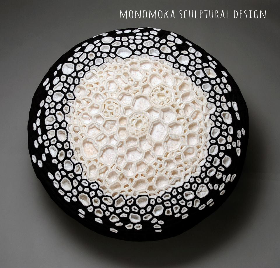 Monomoka design-sculpture crochet | Deco Friday