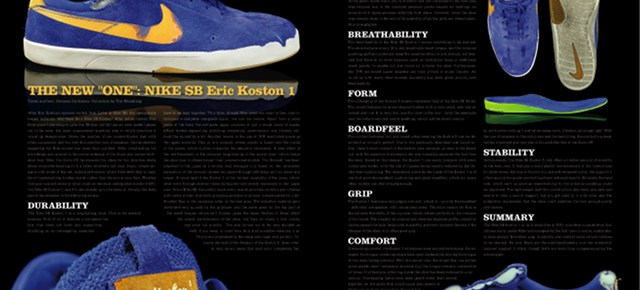 Nike SB Koston 1 review