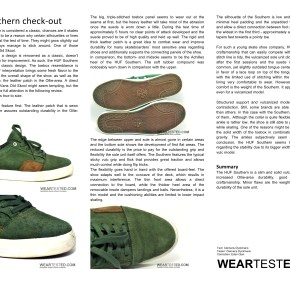 HUF Southern check-out