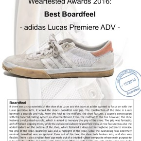 Weartested Awards 2016: Best Boardfeel