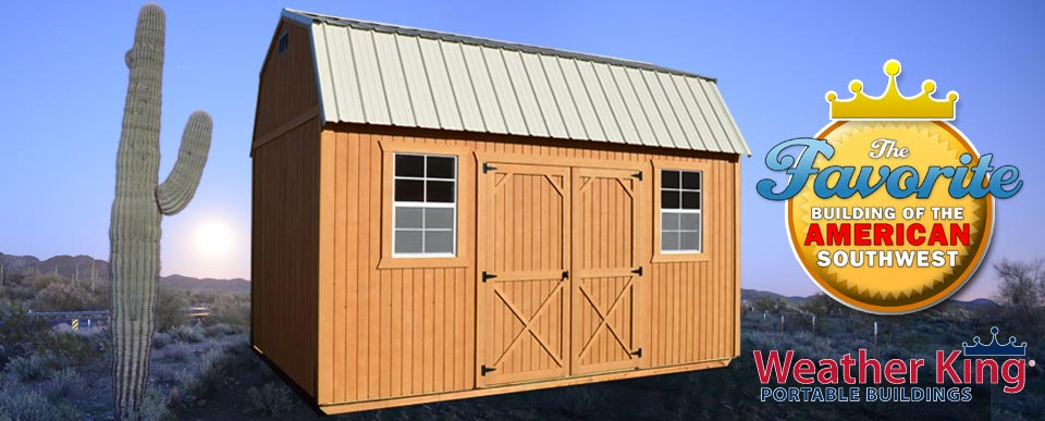 Weather King Portables : Weather king buildings portable storage sheds