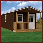 Weatherking Private Storage Play House Cabin