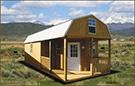 Weatherking Private Storage Custom Built Lofted Barn Cabin