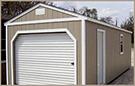 Weatherking Private Storage Painted Garage with side door
