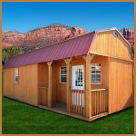 DuraTemp Side Lofted Barn Cabin