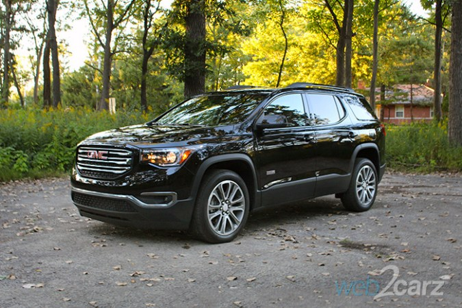 2017 GMC Acadia AWD All Terrain Review   Web2Carz 2017 GMC Acadia AWD All Terrain Review