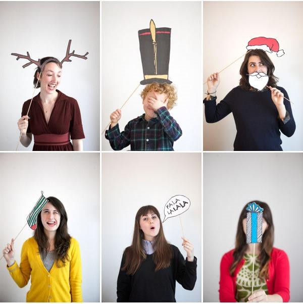25 increibles  adornos de navidad hechos a mano - accesorios para fotos navidad