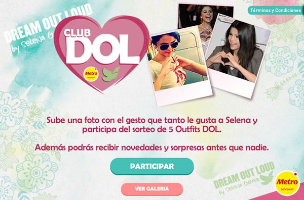 concurso dream out loud metro gana outfit app